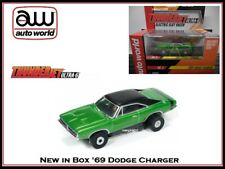 AUTO WORLD ~ '69 Dodge Charger ~ New In Jewel Case ~ Also Fits Aurora, AW, JL