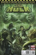TOTALLY AWESOME HULK #22 FIRST PRINT WEAPON H NM