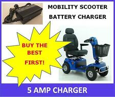 5 Amp Mobility Scooter Battery Charger. Electric Bike Charger. Scooter Charger.