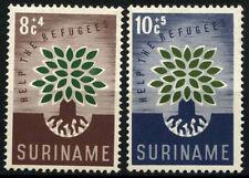 Suriname 1960 SG#467-8 World Refugee Year MNH Set #D34370