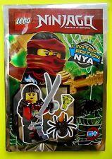 Lego Ninjago Nya mit Spinne Schwert Kristall Ninja Limited Edition Neu 2016