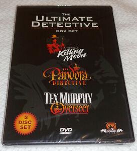 The Ultimate Tex Murphy Adventures Collector's Edition Kickstarter Exclusive NEW
