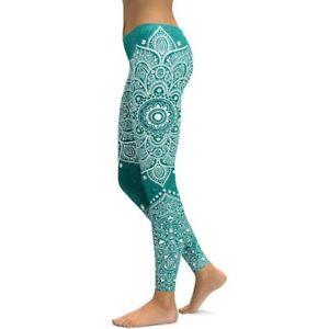 LI-FI Mandala Fitness Yoga Pants Women Sports Leggings Workout Hot Running