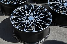 19x8.5 AodHan LS001 5X112 +40 Rims Fits VW cc eos golf jetta gti (used)
