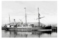 SOUTHERN CROSS - Union SS Co of New Zealand built 1878 Postcard Modern Digital