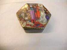 """scatola porcellana esagonale Henrich/Villeroy e Boch """"fiabe dell'antca Russia"""""""