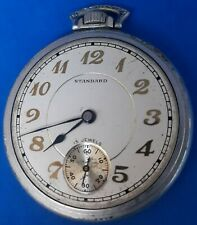 New York Standard,Size 10,Pocket Watch.FREE 3 DAY PRIORITY SHIPPING.