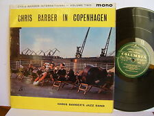 CHRIS BARBER'S JAZZ BAND-Chris Barber à Copenhague 33SX UK 1274 LP 1stP 1961