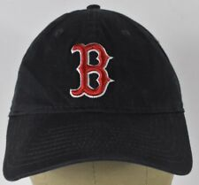 Navy Blue Boston Redsox Embroidered Baseball Hat Cap Adjustable Strap