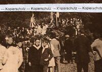 Freiburg Herdern - Turnverein Fahnenweihe Festumzug - um 1925 - RAR -   P 19-13
