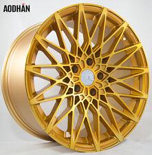 19X8.5 +15 AodHan LS001 5X120 Gold Wheel Fits Bmw E32 E39 E60 525 528 530 535 I
