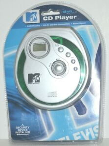MTV MUSIC TELEVISION PORTABLE PERSONAL CD PLAYER MODEL CD 602 - 2006
