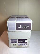 Willcopy 19 Hole GBC 92 Bright 24LB 8.5x11 2500 Sheets 5 Reams Custom Cut Sheets