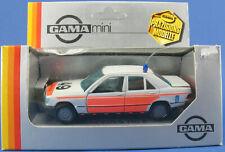 GAMA mini 1123 - Mercedes-Benz 190 E - Polizei - Rukspolitie - in OVP - 1:43