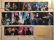 BATMAN ET ROBIN avec SCHWARZENEGGER CLOONEY THURMAN SILVERSTONE - 10 photos