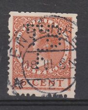 Roltanding 41 PERFIN TBE TOP CANCEL ENSCHEDE Nederland Netherlands syncopated