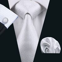 SN-643 High Quality Mens Silk Jacquard Woven Neckties Tie+Hanky+Cufflinks Sets
