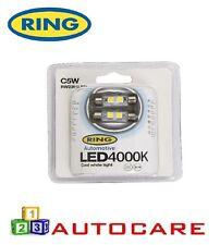 Anillo RW2394 LED bombillas LED blanco frío 12v 4000K C5w (239) x2