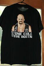 WWE  W LEGENDS - STONE COLD STEVE AUSTIN T-Shirt - Size XL  EUC!
