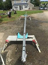 Laser 5000 Sailing Dinghy mast with spreaders