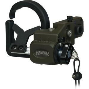 Hamskea Hybrid Hunter Pro Micro Arrow Rest OD Green Right Hand