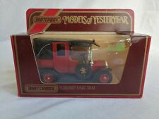 Matchbox Models of Yesteryear Y28 1907 Unic Taxi