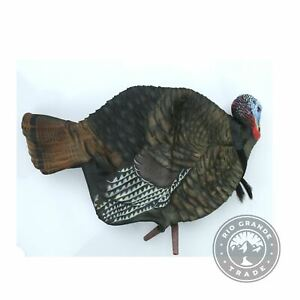 USED Avian-X AVX8012 LCD 1/2 Strut Jake Turkey Decoy in Natural - One Size