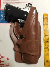 Colt Springfield Remington 45 Model 1911 Cowboy Western Leather Holster
