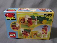 Tout Nouveau Très Rare Vintage 1997 LEGO Duplo 2695 Poney Carosse Wagon - US