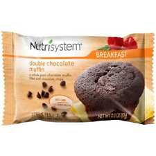 Nutrisystem Double Chocolate Muffins, 2 oz, 4 count New Free Shipping