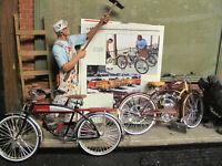 1948 Schwinn Whizzer DIE CAST AND ROAD MASTER DIE CAST  Motor Bike XONEX