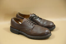 #7 MEPHISTO 'Marlon' Brown Plain Toe Derby Oxfords Size 9