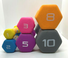 CAP Neoprene Hex Dumbbell Weights Pair Select 1lb 2lb 3lb 5lb 8lb 10lb FREE SHIP
