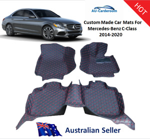 Mercedes-Benz C-Class 2014-2020 Premium Custom Made Car Floor Mats/Carpet