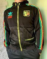 BNWT Adidas Originals x Star Wars Rasta Black Jacket RASTA BOBA FETT V32822