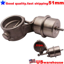 1 Bar Vacuum Activated Exhaust Cutout Valve Dump 51MM 2inch Close Style Pressure