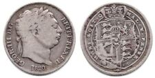 More details for 1820 george iii 6d sixpence silver coin - freepost