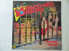 Compil 16 disco hits non stop INTERNATIONAL DISCOBAND  Sexy cover sf018