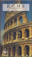 VHS: MUSEUM CITY VIDEOS: ROME THE ETERNAL CITY.....NEW
