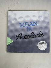 Accolade Mean 18 ultimate Golf Atari St Computer Game - Free Shipping