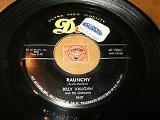 BILLY VAUGHN - RAUNCHY - SAIL ALONG SILVERY MOON  / LISTEN - ROCK