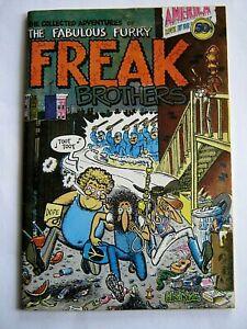 Fabulous Furry Freak Brothers #1 1971 VF 1st ptg Rip Off Press Shelton free ship