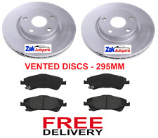 FOR TOYOTA VERSO 2.0 D-4D (2009-2013) FRONT BRAKE DISCS & BRAKE PADS BRAND NEW