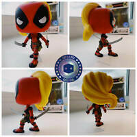 Funko Pop! Lady Deadpool 549 Pop In A Box Exclusive With Pop Protector