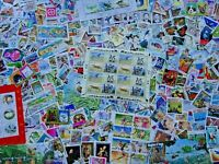 Worldwide Off Paper Randomly Picked 200 pcs Stamps Collection Lot World Stamps