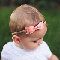 Girls Bow Photo Props Toddler HairBand Headwear Headband