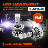 CREE 150W 15000LM LED CAR HEADLIGHT KIT H4 HIGH LOW BEAM REPLACE HALOGEN XENON