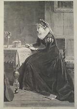 ELIZABETHAN ERA OLD TREASURES HARPER'S WEEKLY 1870