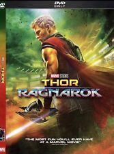 Thor Ragnarok DVD 2018 Brand NEW Action Sci Fi Marvel Free Shipping 📦