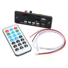 12V Car Handsfree Bluetooth MP3 Decode Board w/ Bluetooth & FM Radio Module X2X8